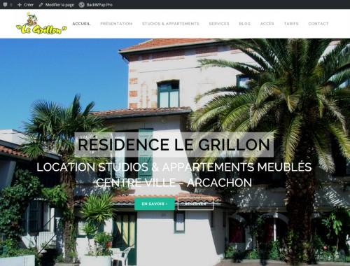 Le Grillon Location Centre Ville Arcachon Appartements Studios
